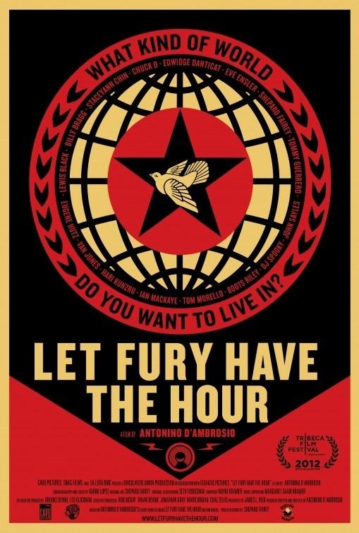 Let Fury Have the Hour: la locandina del film