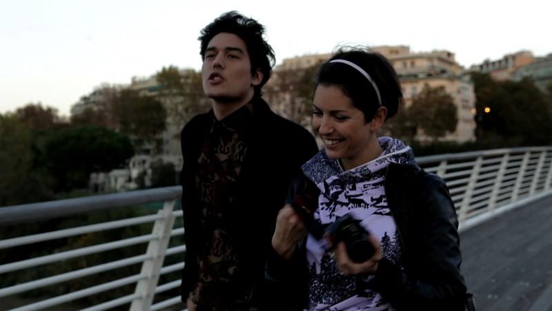 Still Frame: una foto di scena tratta dalla web series