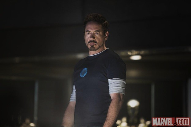 Iron Man 3: un'immagine di Robert Downey Jr.