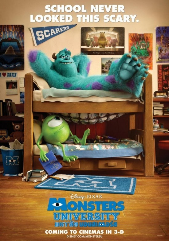 Monsters University: un nuovo curioso poter