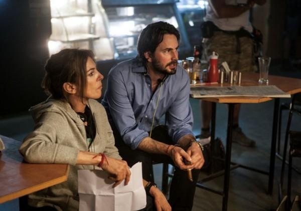 Operazione Zero Dark Thirty: la regista Kathryn Bigelow e lo sceneggiatore Mark Boal sul set