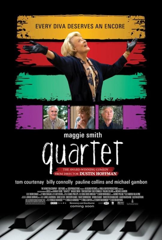 Quartet: ancora una nuova locandina