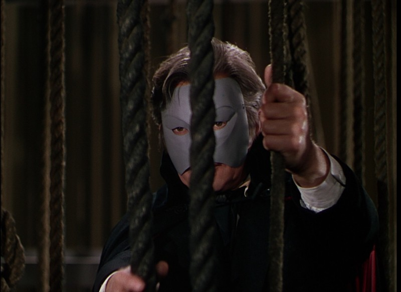 Claude Rains in una scena de Il Fantasma dell'Opera (1943)