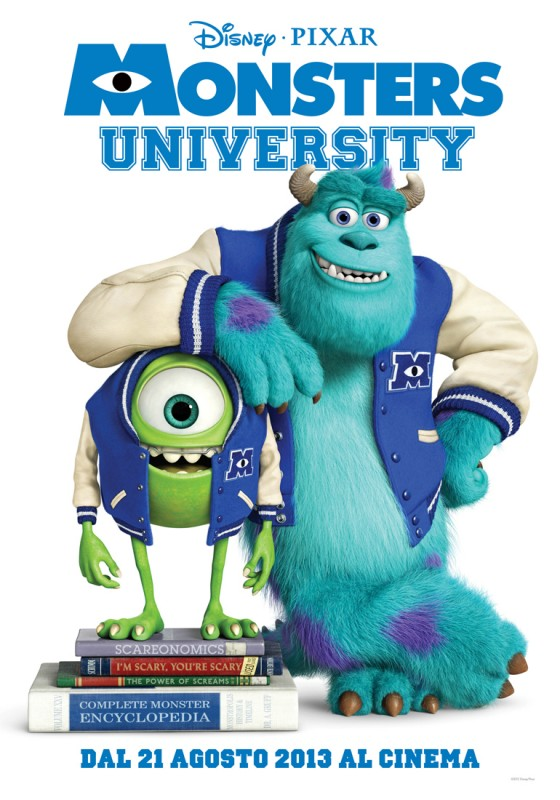 Monsters University: il teaser poster italiano del film