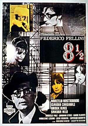 8½: Locandina italiana