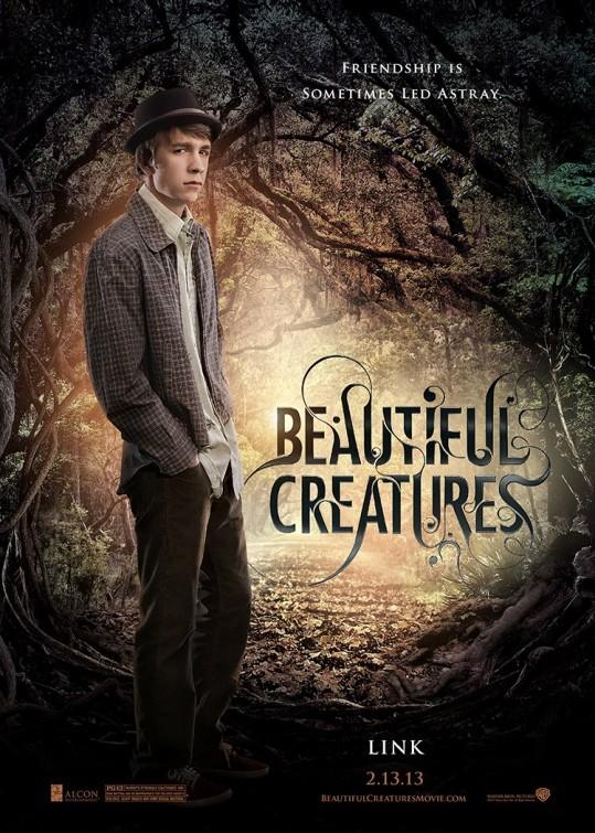 Beautiful Creatures: character poster di Thomas Mann nei panni di Link