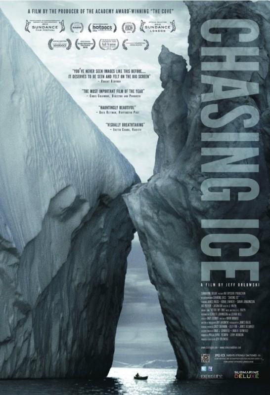 Chasing Ice: la locandina del film