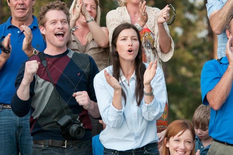 Quello che so sull'amore:  Jessica Biel in una scena del film con James Tupper
