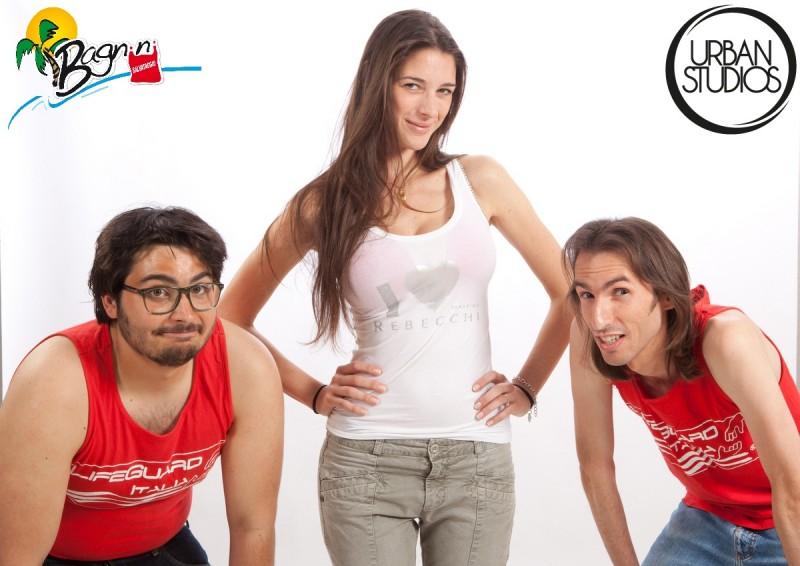 Bagnini: una foto promozionale della web series