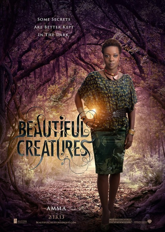 Beautiful Creatures: character poster di Viola Davis nei panni di Amma