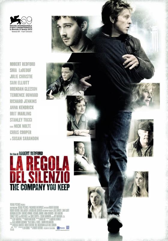 La regola del silenzio: la locandina italiana del film