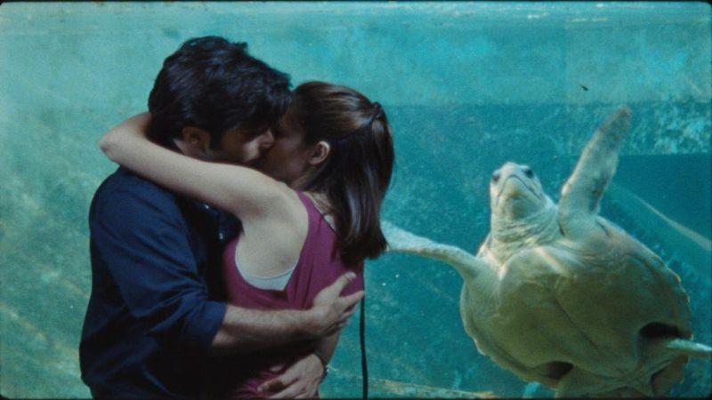 Vorrei vederti ballare: Chiara Chiti e Giulio Forges Davanzati si baciano in una scena
