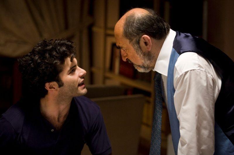 Vorrei vederti ballare: Giulio Forges Davanzati e Alessandro Haber in una scena del film