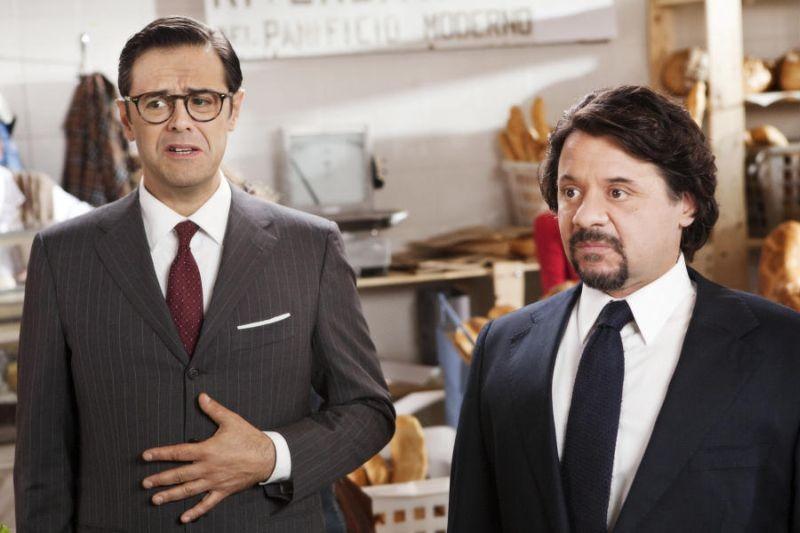 Colpi di fulmine: Claudio Gregori e Pasquale Petrolo, alias Lillo & Greg in una scena del film
