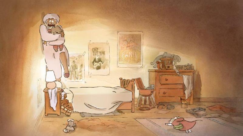 Ernest & Celestine: una scena del film d'animazione francese