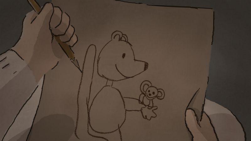 Ernest & Celestine: una scena tratta dal film