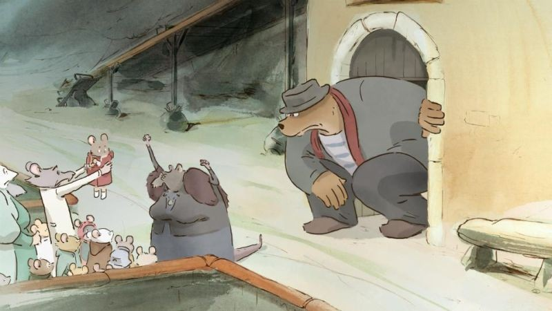 Ernest & Celestine: una scena tratta dal film d'animazione francese
