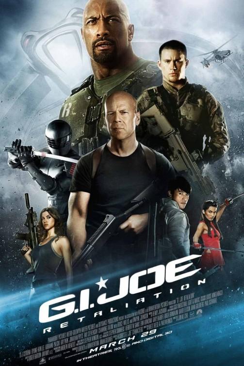 G.I. Joe: Retaliation, nuovo poster USA