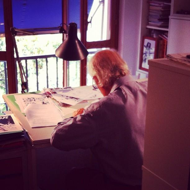 GALLIENO FERRI, creatore grafico e storico disegnatore di Zagor davanti alle telecamere di Fumettology