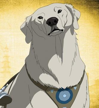 Il personaggio di Naga, della prima stagione della serie animata La leggenda di Korra