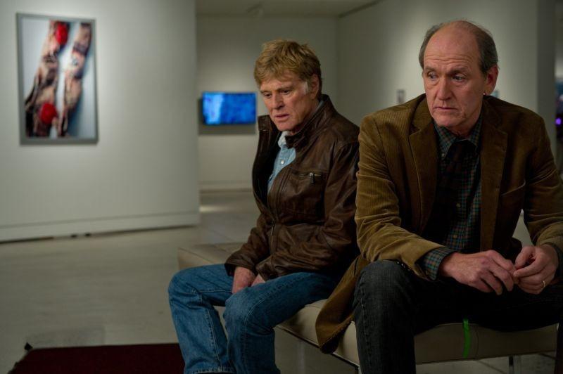 La regola del silenzio: Richard Jenkins e Robert Redford in una scena