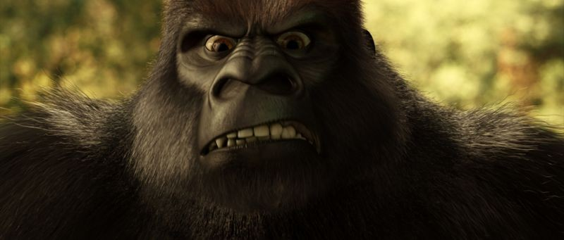 Le avventure di Fiocco di Neve: un gigantesco gorilla immortalato dal film