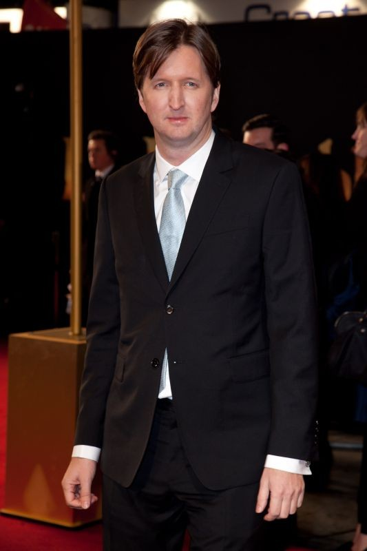 Les Misérables: il regista Tom Hooper sul red carpet londinese del film a Leicester Square