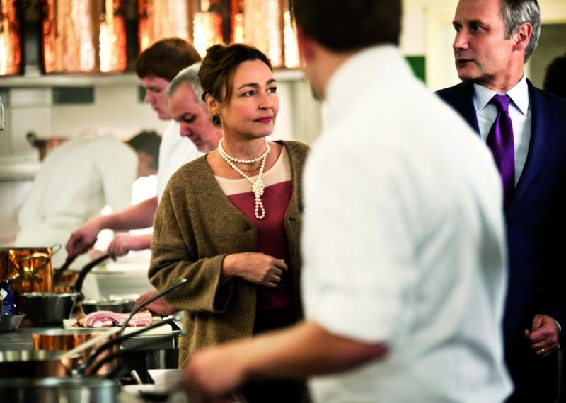 Les Saveurs du Palais: Catherine Frot in una scena con Hippolyte Girardot