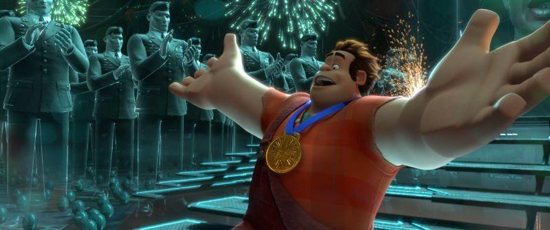 Ralph Spaccatutto: Ralph in una scena tratta dal film d'animazione