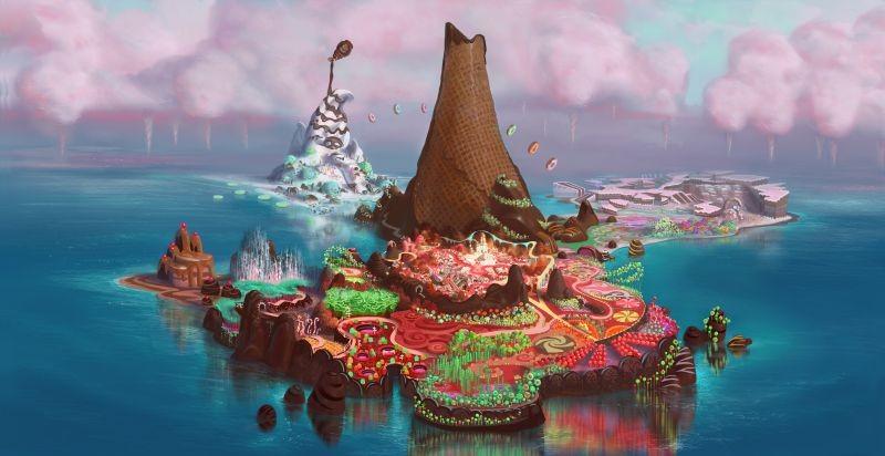 Ralph Spaccatutto: un'immagine panoramica tratta dal film