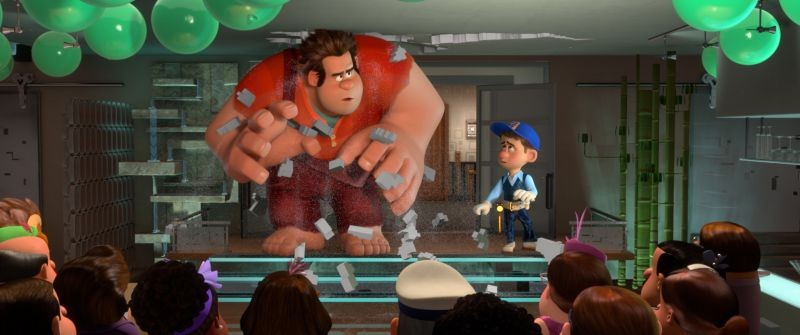Ralph Spaccatutto: una scena tratta dal film d'animazione in 3D
