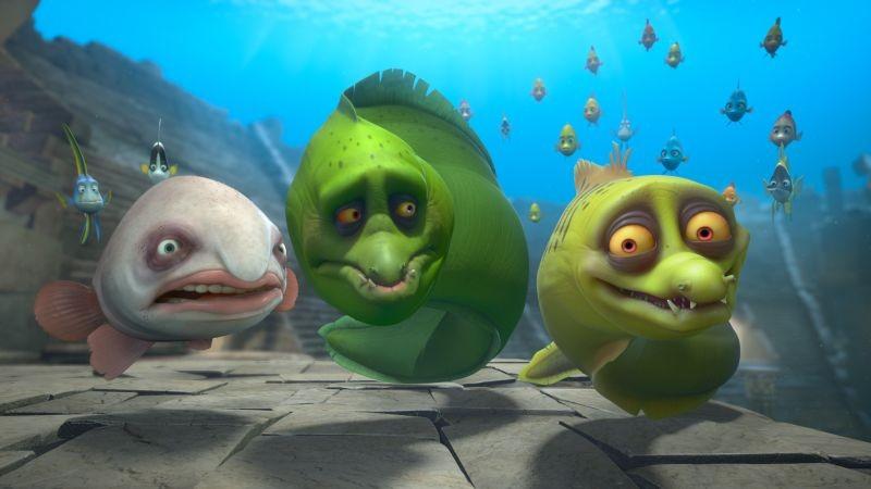Sammy 2 - La grande fuga: un'immagine del film d'animazione in 3D