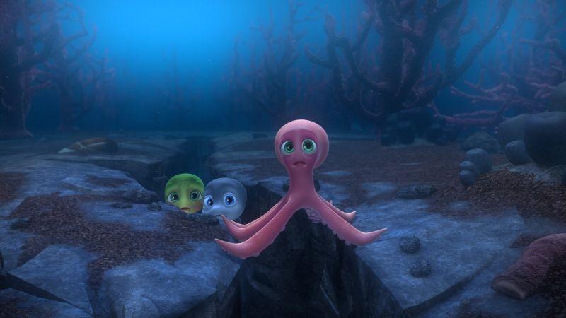 Sammy 2 - La grande fuga: un'immagine tratta dal film d'animazione sulla piccola tartarughina