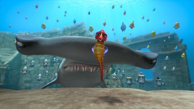 Sammy 2 - La grande fuga: una scena del film animato in 3D