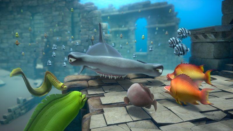 Sammy 2 - La grande fuga: una scena del film d'animazione in 3D