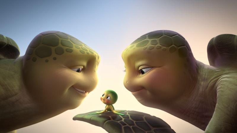 Sammy 2 - La grande fuga: una tenera immagine tratta dal film in 3D
