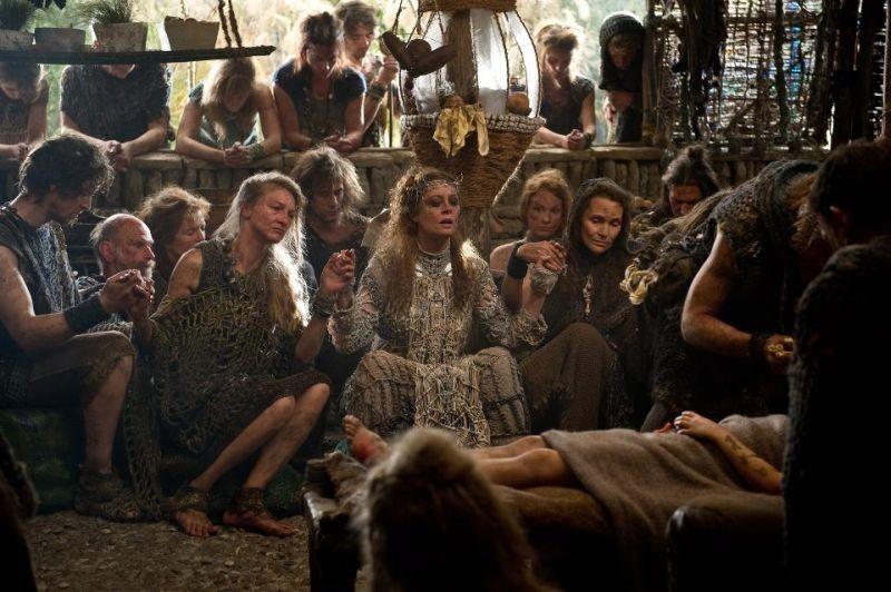 Cloud Atlas: Susan Sarandon in una scena del film nei panni di Abbes