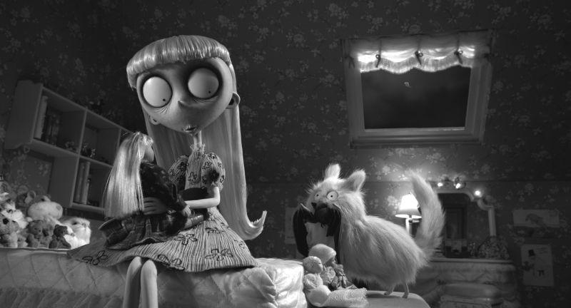 Frankenweenie: una scena del film