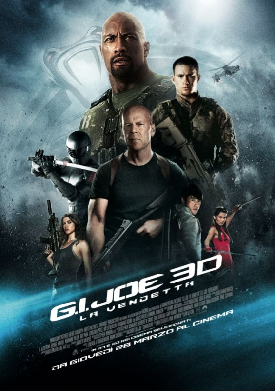 G.I. Joe - La vendetta: il poster italiano del film