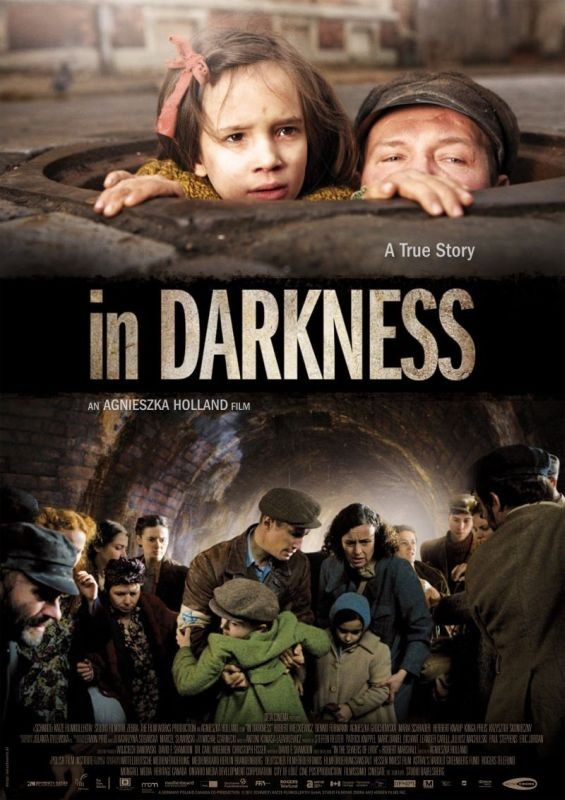 In Darkness: la locandina internazionale del film