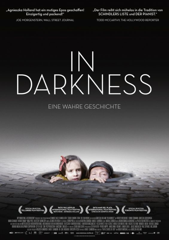In Darkness: la locandina tedesca del film
