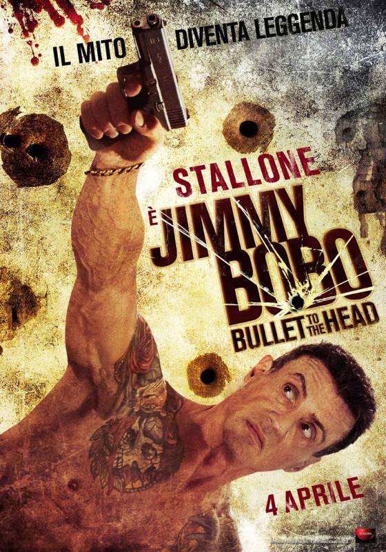 Jimmy Bobo - Bullet to the Head: la locandina italiana del film