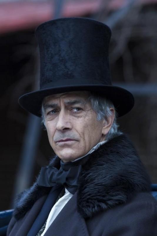 Lincoln: David Strathairn nei panni del Segretario di Stato William Seward in una scena del film