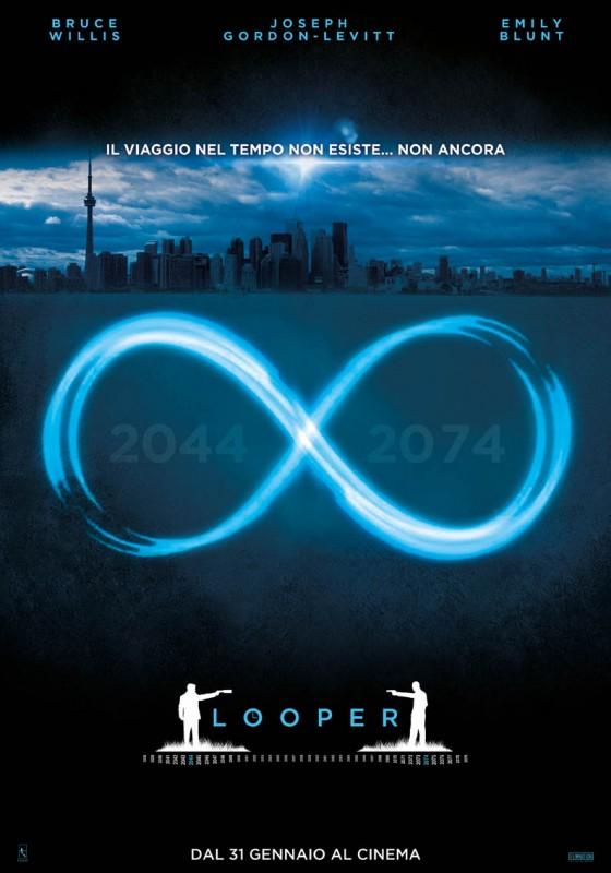 Looper: il nuovo teaser poster italiano