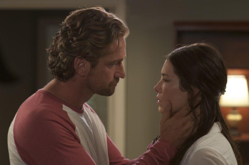 Quello che so sull'amore: Gerard Butler e Jessica Biel in una tenera scena
