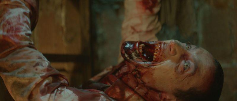 Rec 3 - La genesi: una spaventosa scena splatter del film