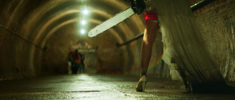 Rec 3 - La genesi: una suggestiva scena del film horror