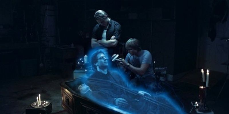 The Ghostmaker: Aaron Dean Eisenberg, Jared Grey e J. Walter Holland in una scena del film
