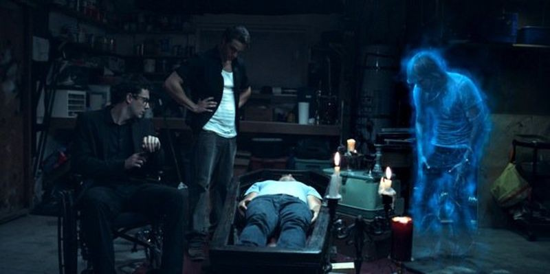 The Ghostmaker: una scena di gruppo tratta dal film
