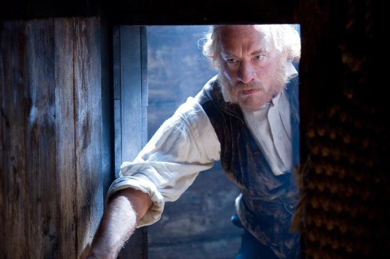 Tom Hanks in un'immagine tratta da Cloud Atlas